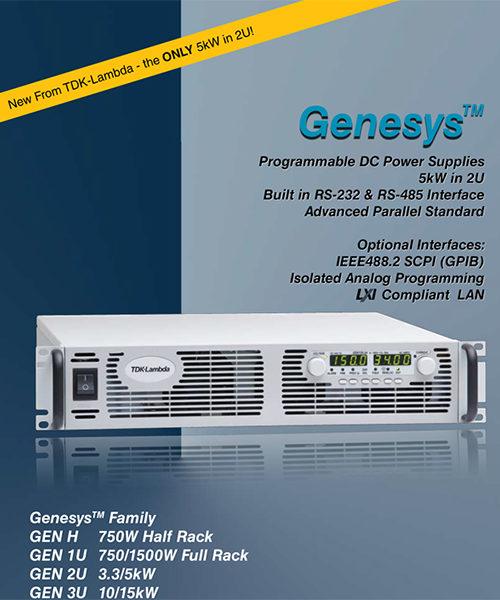 TDK-Lambda Genesys 2U 5kW Programmable DC Power Supply