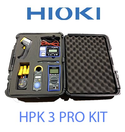 Hioki HPK3 Contractors Kit