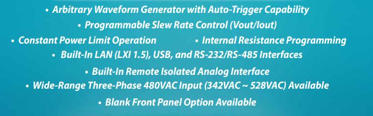 1U 5kW Programmable DC Power Supply