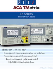 Aim-TTi TGF3000 Series Dual Channel Arbitrary Function Generators