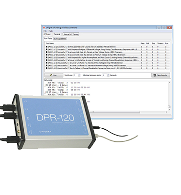 Unigraf DPR-120 DP 1.2 Test Device (Full featured DisplayPort™ 1.2 compliant Reference Sink)
