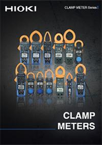 Hioki CLAMP METER Series Catalog