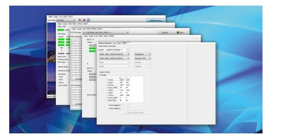 Unigraf UCD-400  DisplayPort™ & HBR3 Video Generator and Analyzer