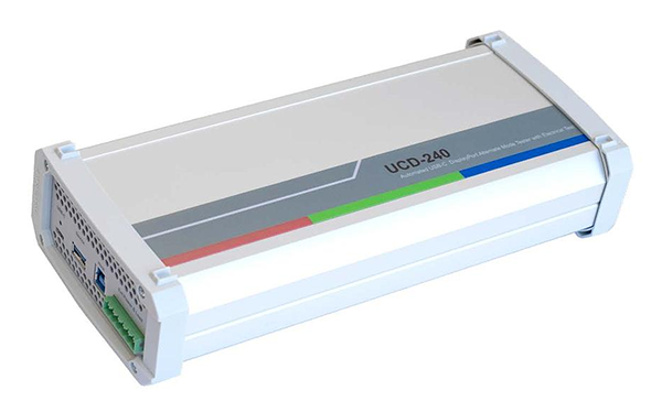 Unigraf UCD-240 Automated USB-C™ DisplayPort™ Alt Mode Tester with Electrical Test